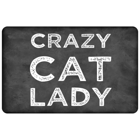 Bungalow Flooring Crazy Cat Lady Mat