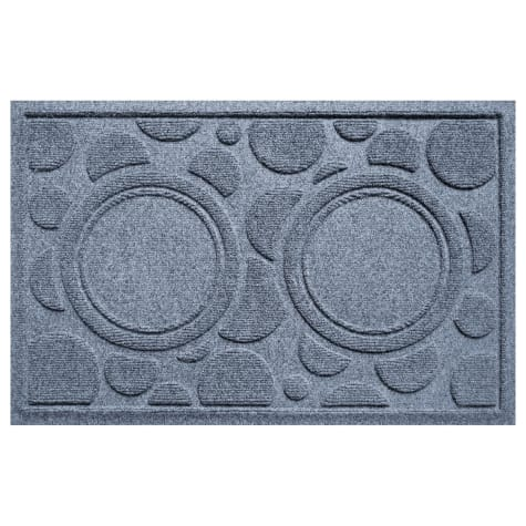 Bungalow Flooring Bowl Dots Bluestone Dog Mat