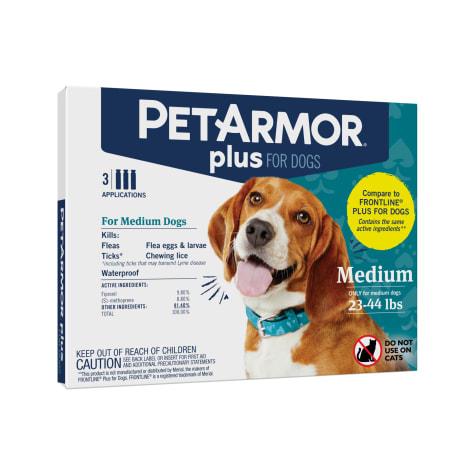 PetArmor Plus Flea & Tick Squeeze-On Dog 23-44 lbs