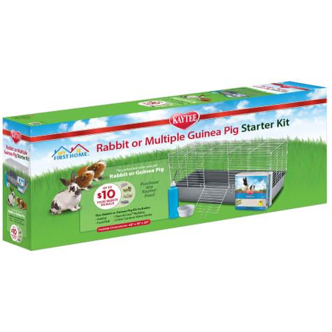 Kaytee My First Home Rabbit or Multiple Guinea Pig Starter Kit