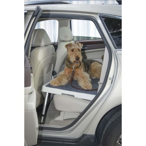 Car-Dek Seat Self with Non Sliding Carpet for Pets