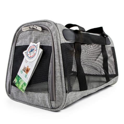 Sherpa Element Gray Dog Carrier