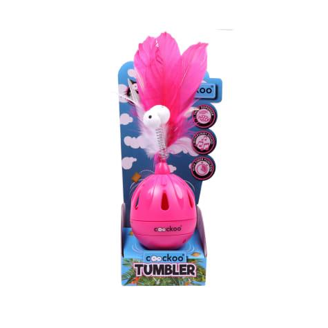 PetPals Group Tumbler Pink Cat Toy