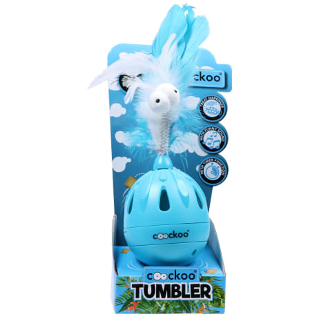 PetPals Group Tumbler Blue Cat Toy