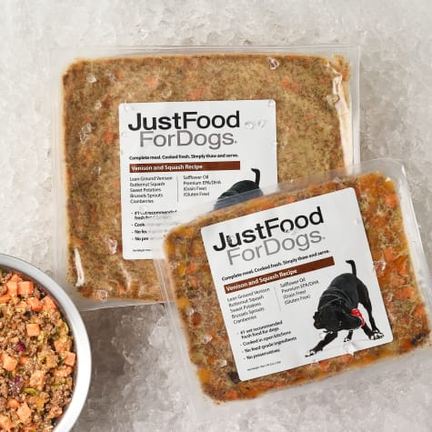 JustFoodForDogs Daily Diets Venison & Squash Frozen Dog Food