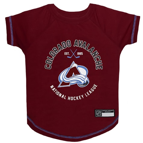 Pets First Colorado Avalanche Dog T-Shirt