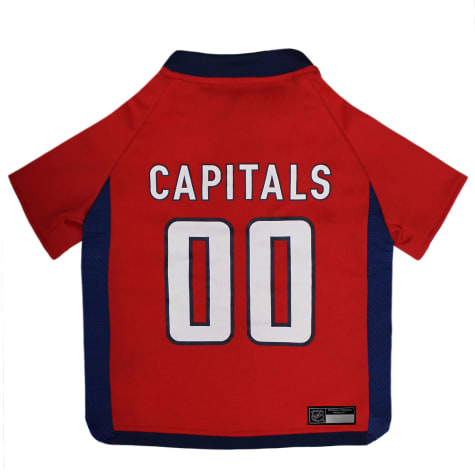 Pets First Washington Capitals Dog Jersey