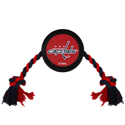 Pets First Washington Capitals Hockey Puck Toy for Dogs