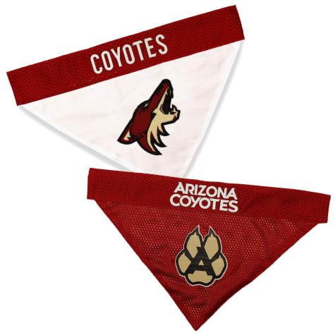 Pets First Arizona Coyotes Reversible Dog Bandana