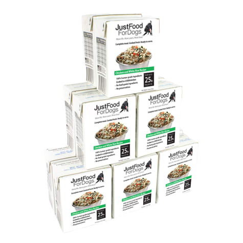 JustFoodForDogs Pantry Fresh Chicken and White Rice Dog Food
