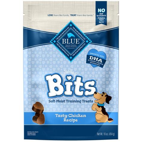 Blue Buffalo Bits Chicken Soft-Moist Training Value Added Viatmins Dog Treat