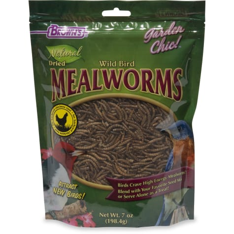 Brown's Natrual Dried Mealworms for Birds