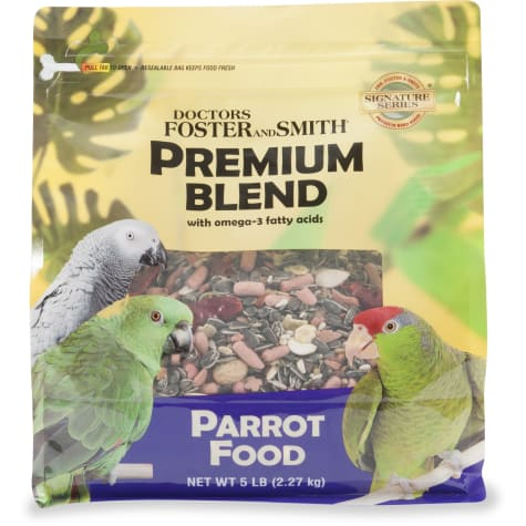 Drs. Foster and Smith Premium Blend Parrot Food with Omega-3 Fatty Acids
