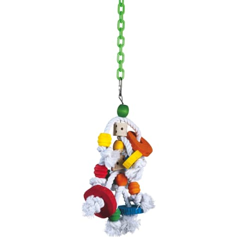 Jungle Talk KnotRageous Hanging Toy for Birds