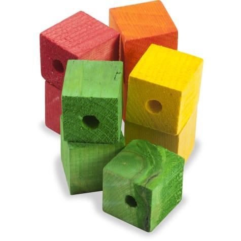 Caitec Paradise Wood Cubes for Birds