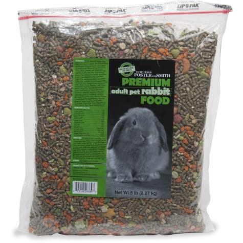Drs. Foster and Smith Signature Series Premium Adult Pet Rabbit Food