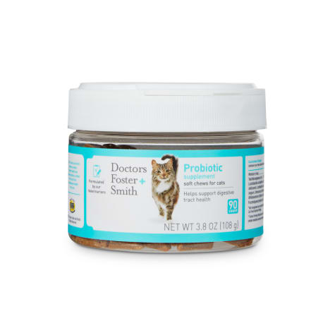 Drs. Foster and Smith Probiotic Soft Chews for Cats