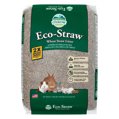 Oxbow Eco Straw Pelleted Wheat Straw Litter for Small Animals