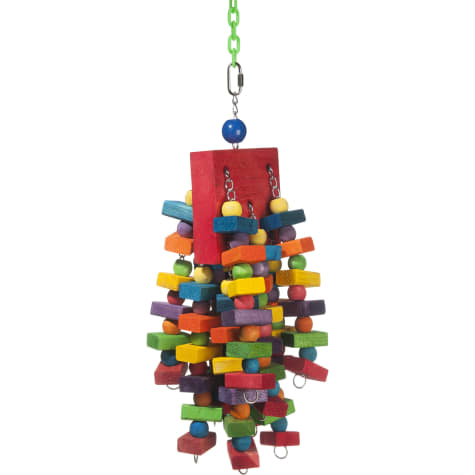Super Bird Creations Beakasaurus Hanging Bird Toy