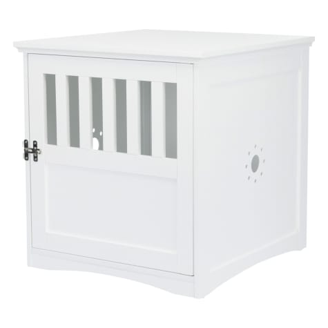 Trixie Wooden Pet House White Kennel