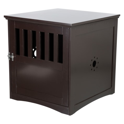 Trixie Wooden Pet House Brown Kennel