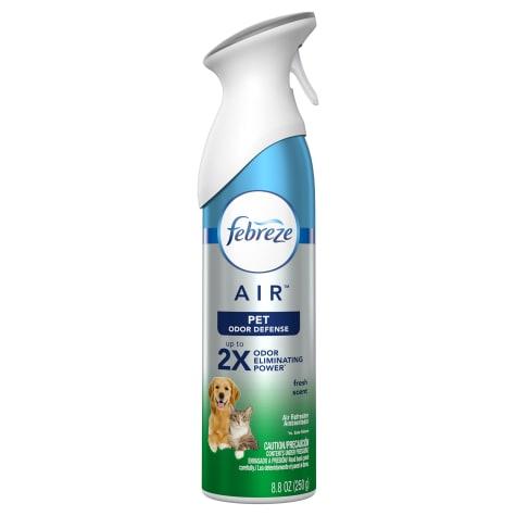 Febreze Air Freshener Dog Cleanup Pet Odor Defense Fresh Scent