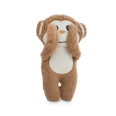 Petco 2 for 5 Toys Three Wise Monkeys Plush Dog Toy in Various Styles