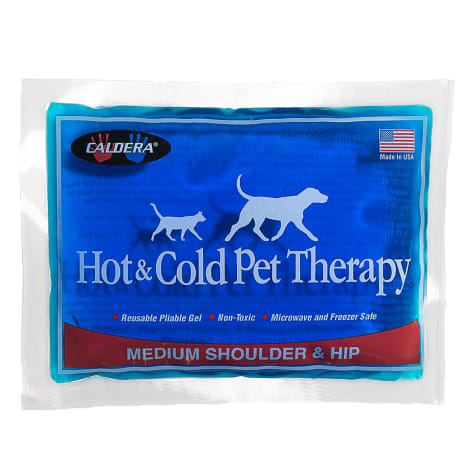 Caldera Hot & Cold Therapy with Gel for Dog Shoulders & Hip