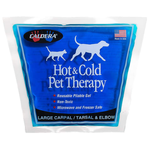 Caldera Hot & Cold Therapy with Gel for Dog Carpal/Elbows