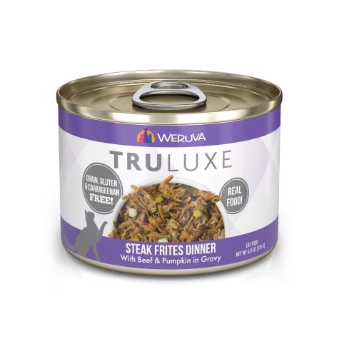 Weruva TruLuxe Steak Frites with Beef & Pumpkin in Gravy Wet Cat Food