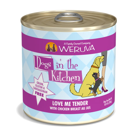 Dogs in the Kitchen Love Me Tender with Chicken Breast Au Jus Wet Dog Food
