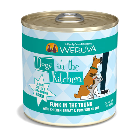 Dogs in the Kitchen Funk in the Trunk with Chicken Breast & Pumpkin Au Jus Wet Dog Food