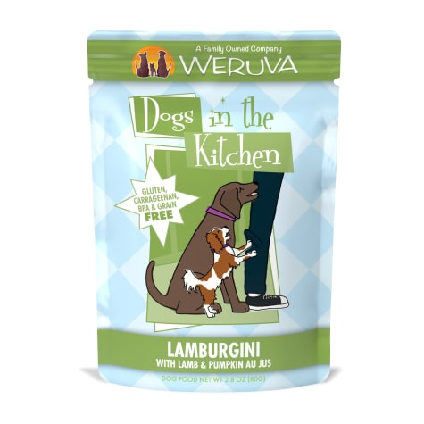 Dogs in the Kitchen Lamburgini with Lamb & Pumpkin Au Jus Wet Dog Food Pouches