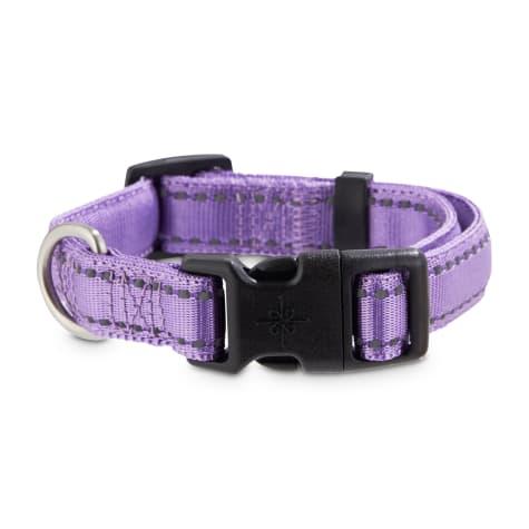 Good2Go Reflective Purple Dog Collar