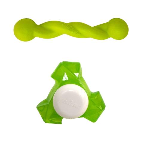 Petlogix Twisty Tweets Play Pack Dog Toys