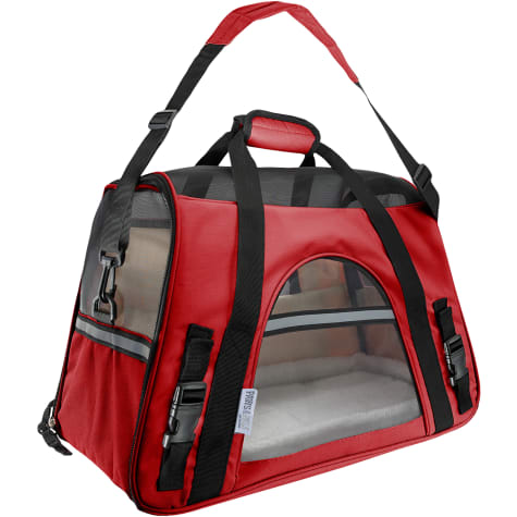 Paws & Pals Red Pet Carrier