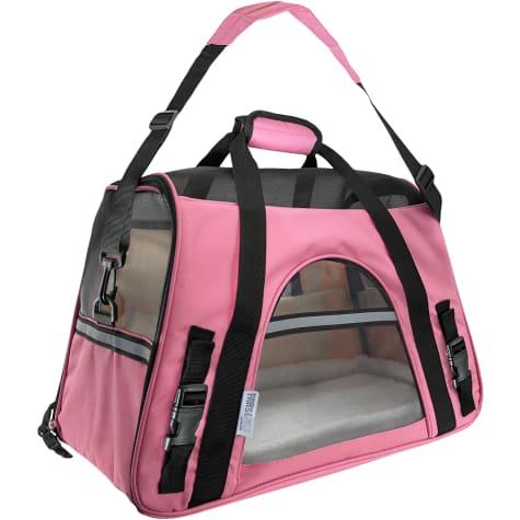 Paws & Pals Pink Pet Carrier