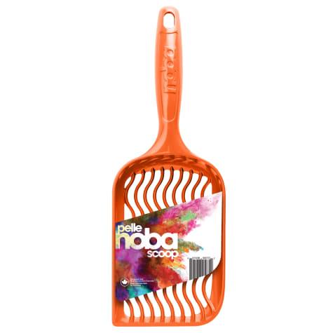 Noba Scoop Orange Cat Litter Box