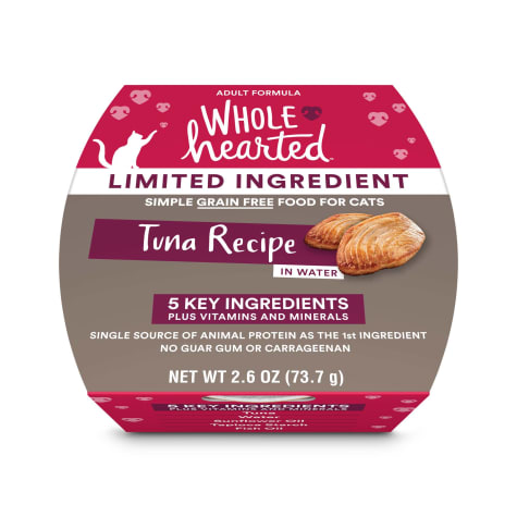 WholeHearted Limited Ingredient Diet Grain-Free Tuna Recipe Wet Adult Cat Food