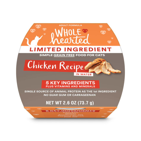 WholeHearted Limited Ingredient Diet Grain-Free Chicken Recipe Wet Adult Cat Food