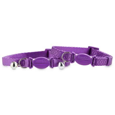 Good2Go Purple Breakaway Cat Collars