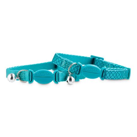 Good2Go Turquoise Breakaway Cat Collars