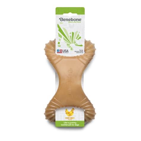 Benebone Chicken Dental Dog Chew Toy