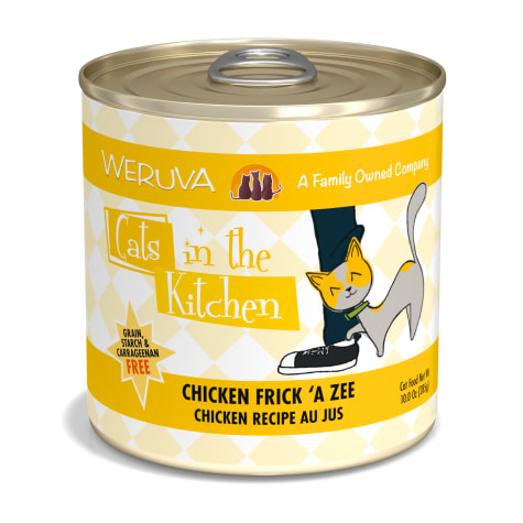 Cats in the Kitchen Chicken Frick 'A Zee Chicken Recipe Au Jus Wet Cat Food