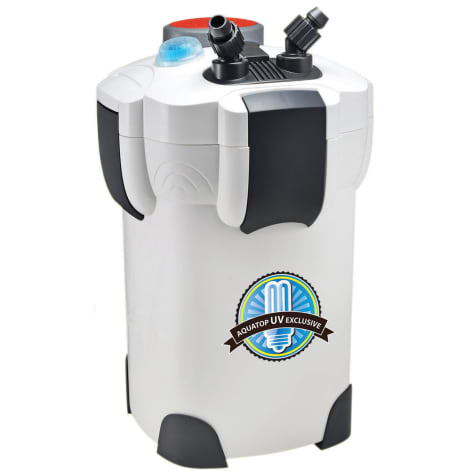 Aquatop CF400UV Canister Filter 4-Stage w/ UV 9W