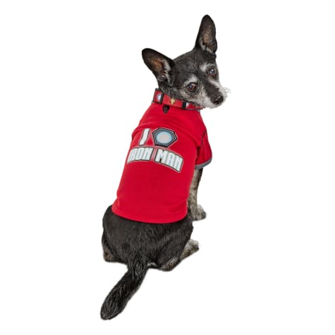 Marvel Avengers I Heart Iron Man Dog T-Shirt