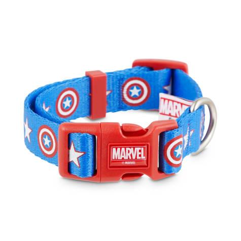 Marvel Avengers Captain America Dog Collar