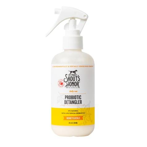 Skout's Honor Probiotic Daily Use Detangler Honeysuckle for Dogs