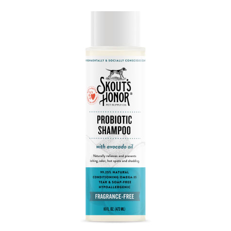 Skout's Honor Probiotic Shampoo Unscented for Dogs