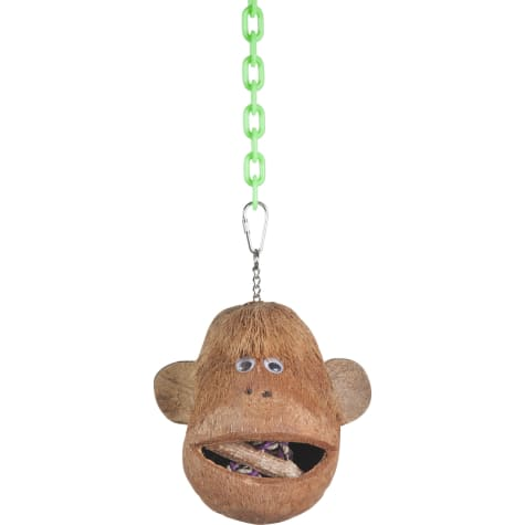 A&E Cage Coco Monkey Head for Birds